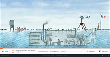 «La Glace & le Ciel» – un brillant site pédagogique sur le réchauffement climatique | Enseigner l'Histoire-Géographie | Scoop.it