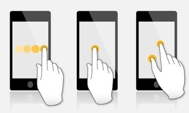 Mobile and tablet specific guidelines - Design considerations | Foolproof | Expertiential Design | Scoop.it