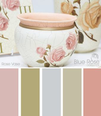Color Inspiration: Pink Rose Vase | Typography & Color Inspirations | Scoop.it