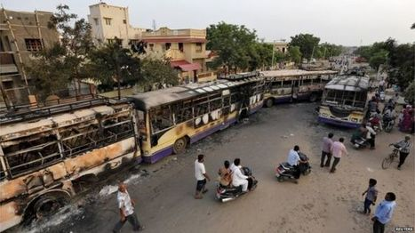 Gujarat remains tense after Patel caste violence - BBC News | Upsetment | Scoop.it