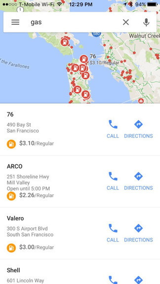 Google Maps For iOS Now Shows You When Stores Are Busiest, Plus Gas Prices | All About Google | Scoop.it