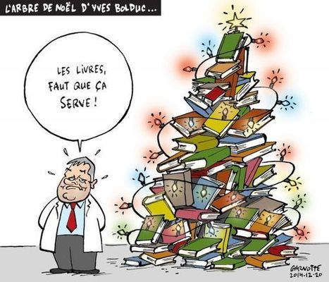 L'arbre de Noël d'Yves Bolduc... | Politique #Qc2015 | Scoop.it