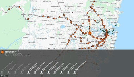 Map shows live public transport information around the world | Geomobile | Scoop.it