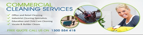 Office Cleaning Contractors Melbourne | Cleaning Service Programs | Capital Facility Services | Scoop.it