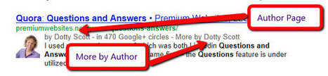 Google Plus: Google Author | Get More Traffic to Your Website | Social Media for Small Business Owners | Scoop.it