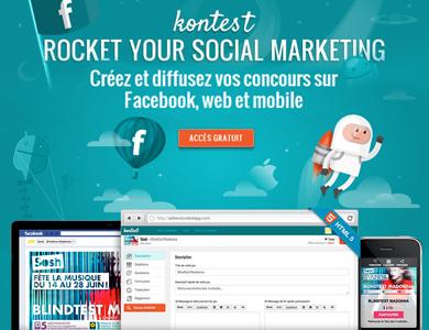 Découvrez Kontest, la solution pour vos jeux concours multi-canaux | Quand la communication passe au web | Scoop.it