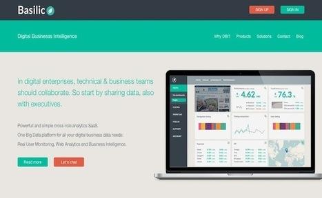 La startup du jour : Basilic utilise les indicateurs clés pour faciliter la prise de décision | Yeca | Scoop.it