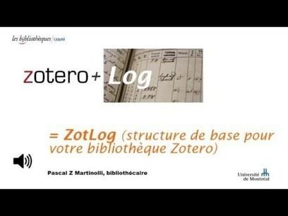 ZotLog : structurer son parcours de recherche avec Zotero | Zotero | Scoop.it