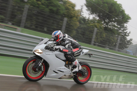 Ducati 899 Panigale Onboard POV Video in the Rain at Imola | Ductalk Ducati News | Scoop.it