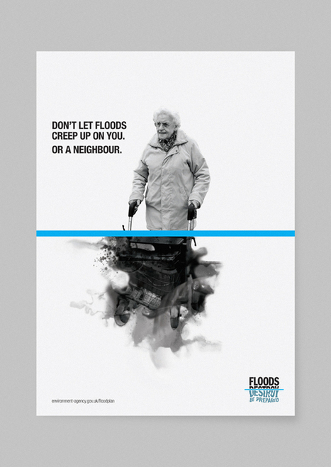 Creative Review - Squad's flood awareness toolkit | Design for Communications and Life | Scoop.it