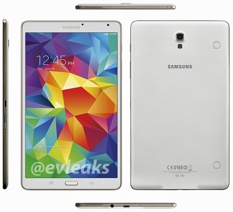 Samsung Galaxy Tab S 8.4 Press render leaks ahead of official debut | Latest Android and Iphone PC Downloads | Scoop.it