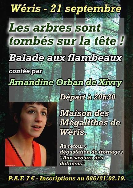 Fête de l'équinoxe à Wéris - balade contée | Mégalithismes | Scoop.it