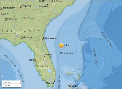 Why Florida's Recent Earthquake Is So Rare | Eldritch Weird | Scoop.it
