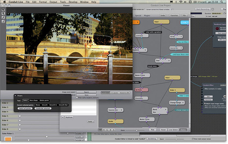 The Free Swiss Army Knife of Special Effects for Video: PixelConduit (Mac) | iEduc | Scoop.it