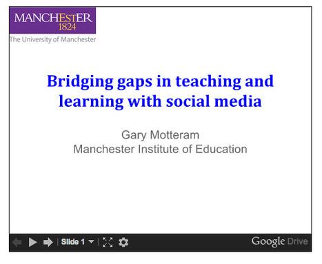 On talk on social media in distance education: Motteram   TELT   Scoop.it