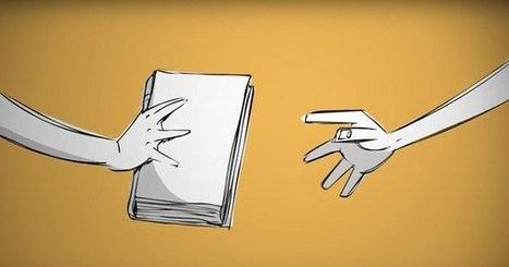 The Evolution of the Book, Animated | @FoodMeditations Time | Scoop.it