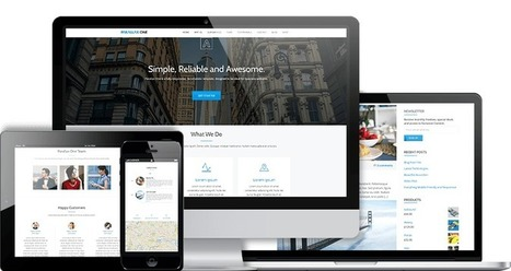 Free WordPress theme | Parallax One | Design Freebies & Deals | Scoop.it