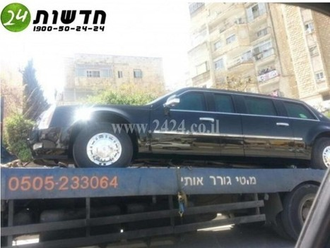 Obama's Limo Breaks Down in Tel Aviv After Reported Gas SNAFU: See the Pictures! | TheBlaze.com | Restore America | Scoop.it