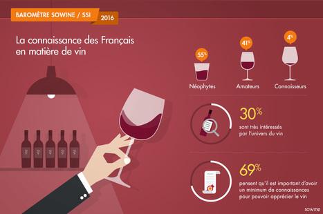 Baromètre SOWINE/SSI 2016 - La connaissance des Français en matière de vin | Vinideal - A la recherche de votre Vin Idéal ! www.vinideal.com | Scoop.it