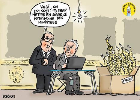 Le patrimoine des ministres en ligne dès lundi | LAFORET MOLSHEIM | Scoop.it