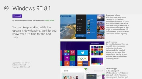 Finding Windows Update 8.1 for Surface RT Pro | All about Windows 8 | Scoop.it