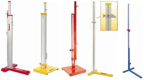 High Jump Stands Manufacturer, IAAF Certified High Jump Stands Supplier Meerut India   Sports and Fitness Equipment   Scoop.it