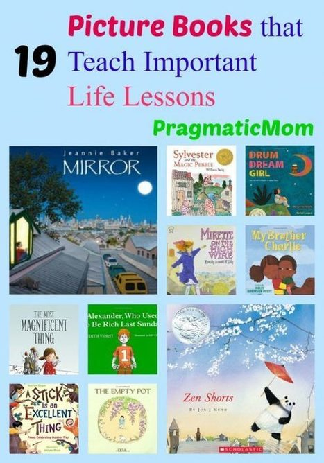 19 Picture Books That Teach Important Life Lessons   ESL Resources secondary education   Scoop.it
