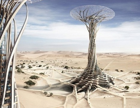 Sand Babel : structures écologiques au cœur du désert | Insolite DD | Scoop.it
