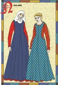 The Middle Ages Clothing | Época Medieval: Vestuario y Calzado | Scoop.it