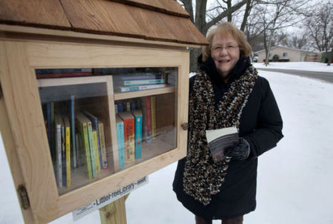 Little Free Libraries popping up for pleasure of reading - Herald & Review | Reading | Scoop.it