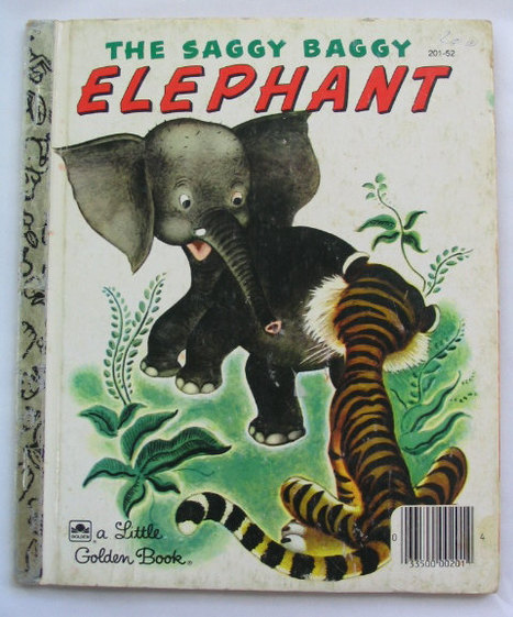 Saggy Baggy Elephant,  by K. & B Jackson | Antiques & Vintage Collectibles | Scoop.it