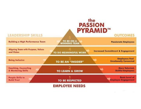 """The Passion Pyramid"" ~ A great #leadership #infographic  @raehanbobby - Graph Lib 