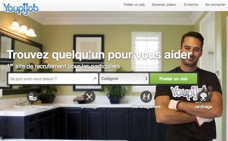 La startup du jour : Youpijob pour demander et offrir ses services entre particuliers | Start-up | Scoop.it