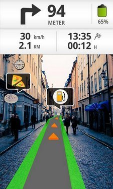 "Wikitude Drive ""augmented reality"" satnav now available in the UK ... 