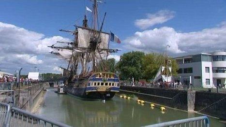 L'inquiétude des commerçants de Rochefort avant le départ de l'Hermione - France 3 Poitou-Charentes   Le Voyage de l'Hermione   Scoop.it