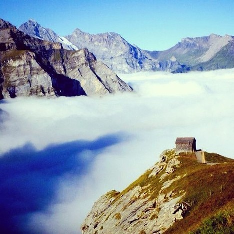 Instagram of the Moment: A House in the Clouds, Switzerland | Travel Photography | Scoop.it