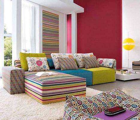 Renkli Oturma Odası Takımları   Mobilya Modelleri ve Dekorasyon Tavsiyeleri   Scoop.it