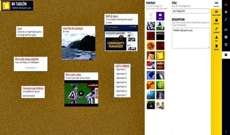 Wallwisher: crea un muro virtual para que tus amigos te dejen fotos, notas, enlaces, archivos y más | Recull diari | Scoop.it