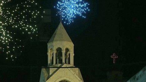 Christians hold Mass in Bethlehem | @NewDayStarts | Scoop.it