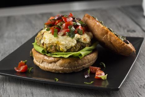 #HEALTHYRECIPE - Mediterranean Veggie Burgers | Healthy foods | Scoop.it