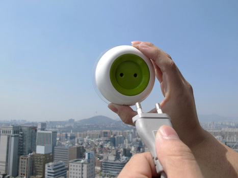 Window Socket – Solar Energy Powered Socket by Kyuho Song & Boa Oh | cine | Scoop.it
