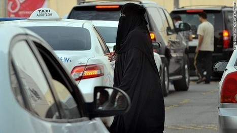 Saudi women's new campaign to end driving ban | Shelby's Geography 101 Portfolio | Scoop.it