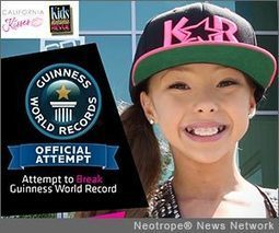 TV star and dancer Sophia Lucia from 'Dance Moms' to attempt to Break the Guinness World Record of 36 Consecutive Pirouettes - California Newswire | Dance 1 | Scoop.it