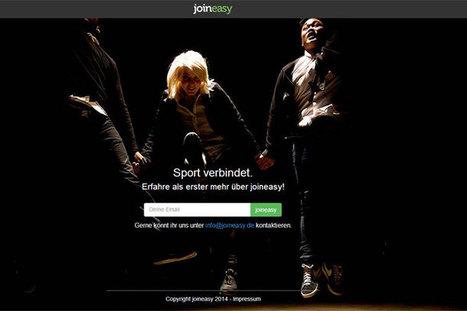 joineasy bietet eine Kommunikationsplattform für Sportler - deutsche ... | Startups & Co. | Scoop.it