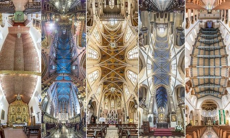 Panoramic pictures of church ceilings | British Genealogy | Scoop.it