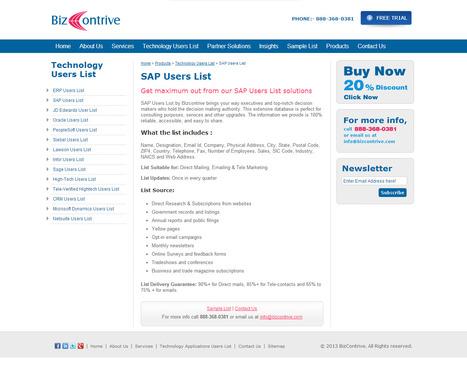 SAP User List | Bizcontrive | Scoop.it