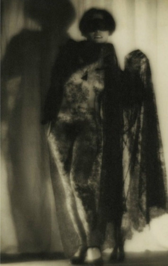 Alexandre Grinberg - Veiled nude with mask, 1926 | Let's Get Sex Positive | Scoop.it