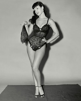 5 Words: Bettie Page, Black Lace Teddy | Vulbus Incognita Magazine | Scoop.it