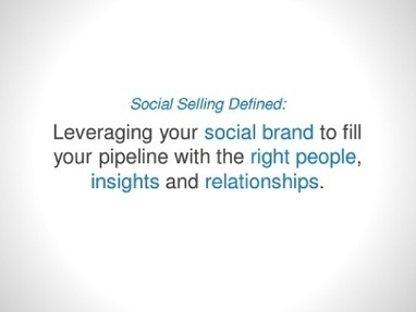 The Rise of Social Selling | B2B Inside Sales Strategies, Prospecting & Technology | Scoop.it