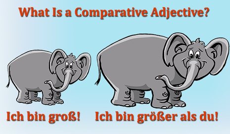 What is a German Comparative Adjective or Adverb?   German Language Learning   Scoop.it